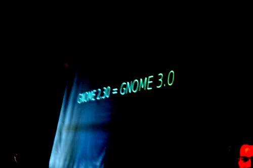 GNOME 2.30 = GNOME 3.0
