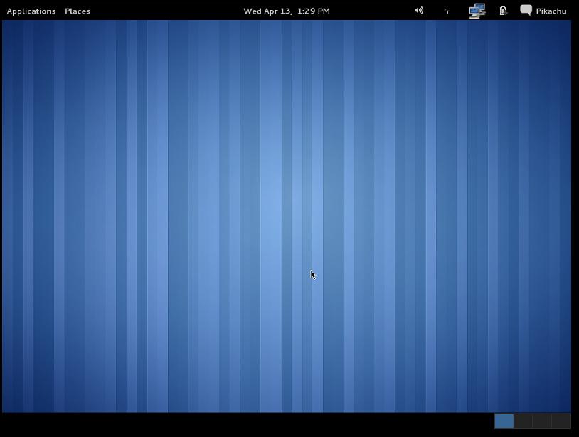 GNOME 3 Fallback Mode