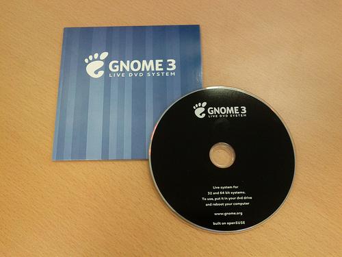 GNOME 3 PromoDVD
