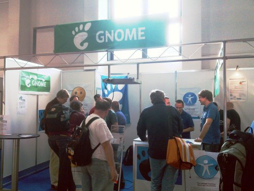 GNOME Booth at LinuxTag