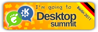 I'm going to Desktop Summit 2011