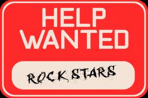 Help wanted: rockstars
