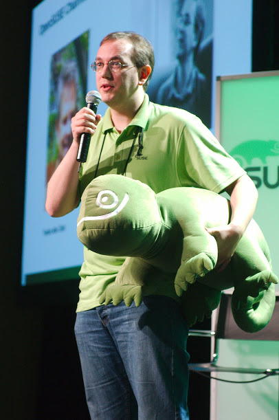 The new openSUSE Board Chairman