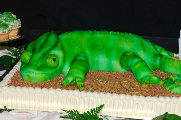 SUSE's birthday cake