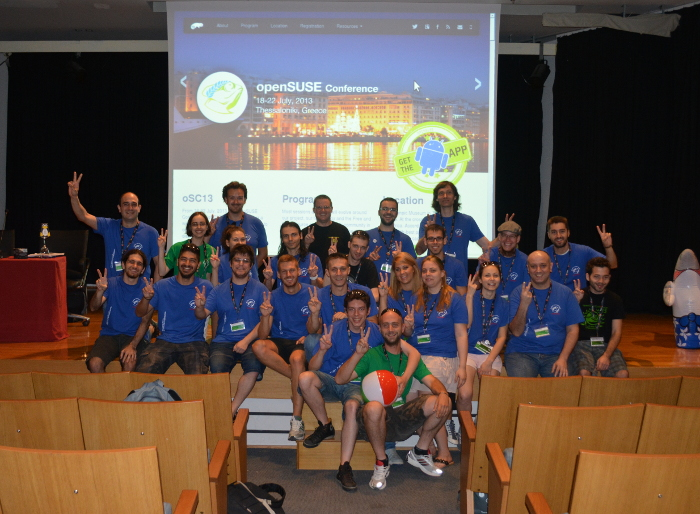 oSC13 volunteers